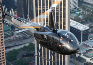 Robinson Helicopter Takes News to the Sky with Latest Electronic News-Gathering Tech